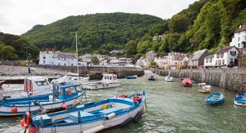 Lynmouth in Exmoor