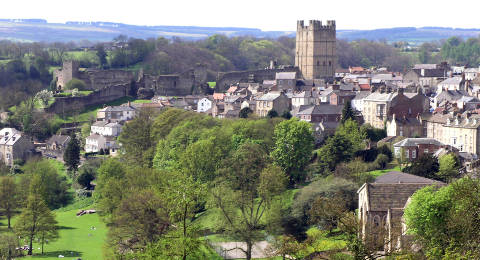 Richmond in Yorkshire, Engeland