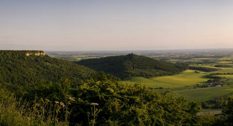 Sutton Bank in de North York Moors