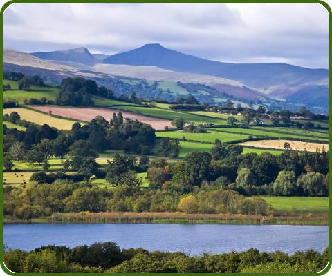 Brecon Beacons National Park in zuid Wales