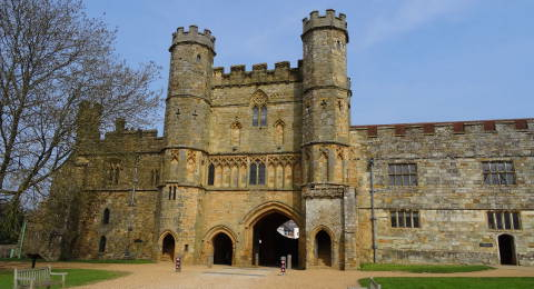 Battle Abbey in East Sussex, Engeland