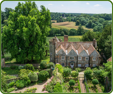 Greys Court in het land Midsomer Murders, Engeland