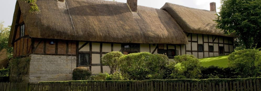 Anne Hathaway's Cottage in Stratford-upon-Avon, Warwickshire