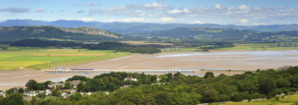 Arnside in Cumbria