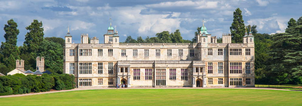 Audley End House in Essex