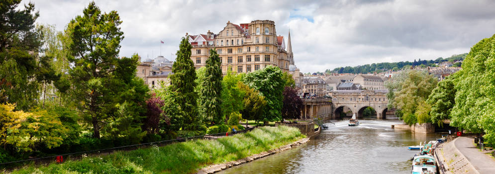 City of Bath in Somerset