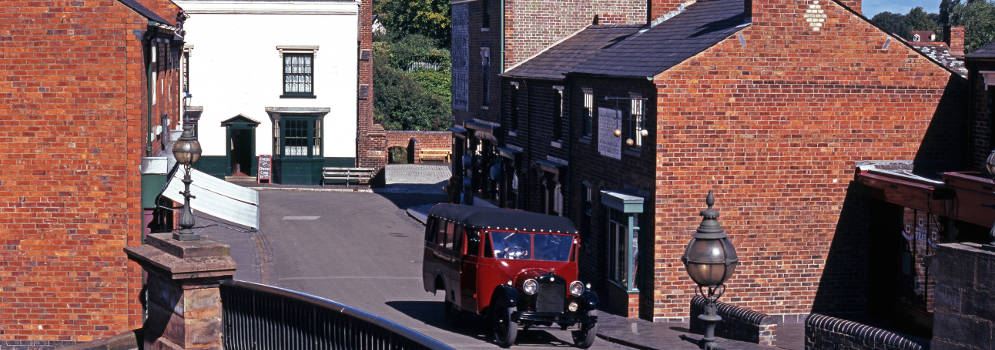 Black Country Living Museum in West Midlands