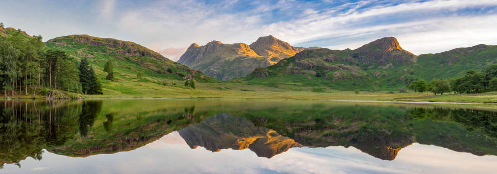Blea Tarn in Little Langdale, Lake District