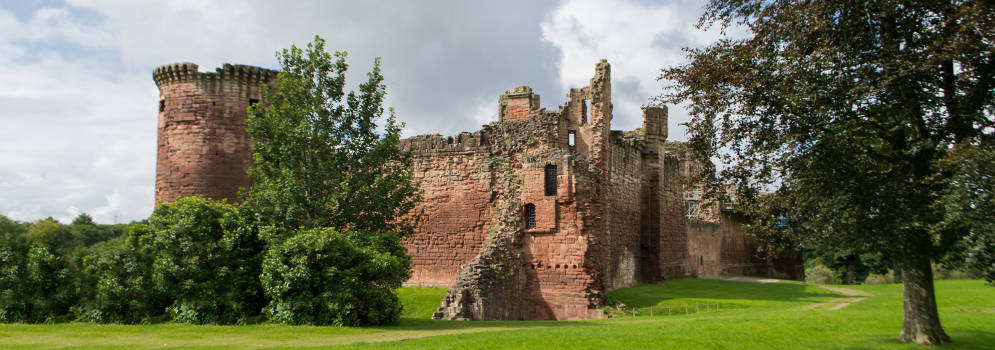 Bothwell Castle in Schotland