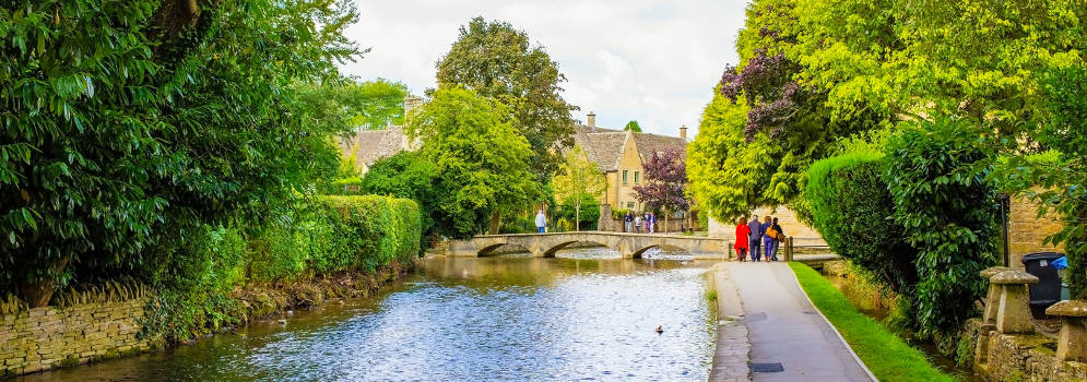 Overnachten in Bourton-on-the-Water, Cotswolds