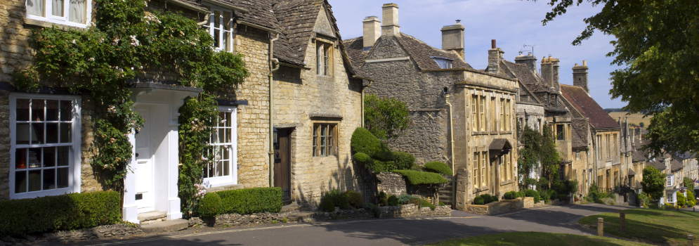 Burford in Oxfordshire, Cotswolds