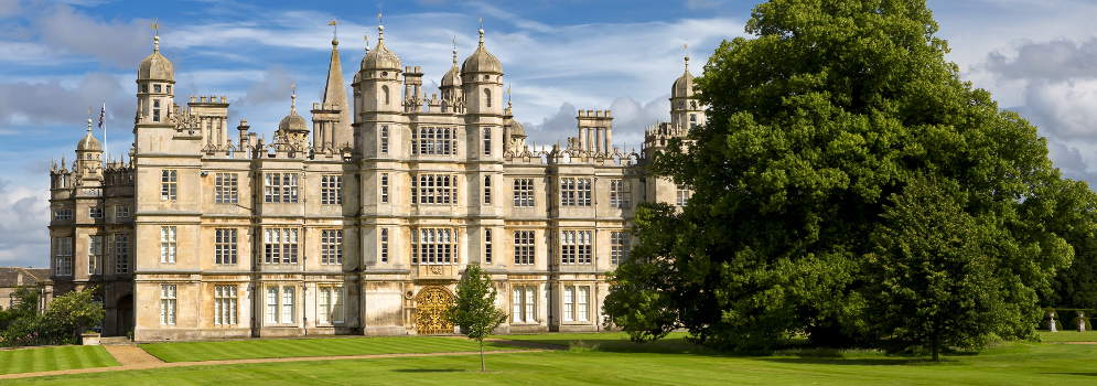 Burghley House in Lincolnshire, Engeland