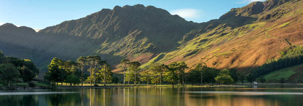 Buttermere in het Lake District, Cumbria