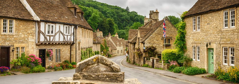 Castle Combe in Wiltshire, Cotswolds