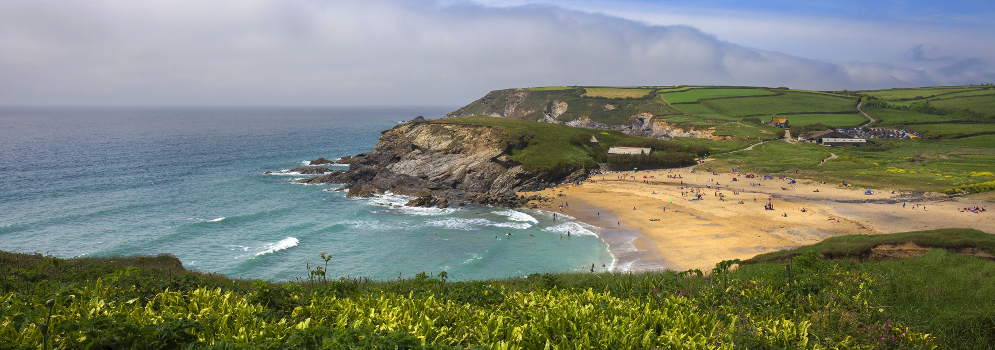 Church Cove in Cornwall