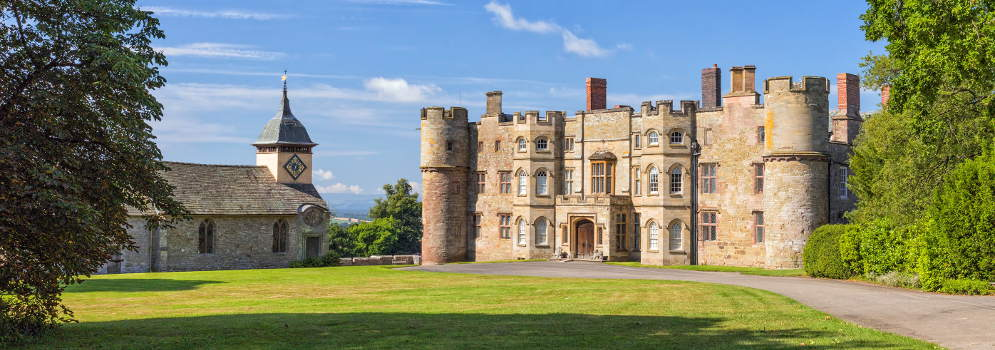 Croft Castle in Herefordshire