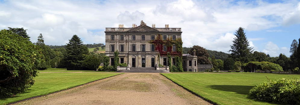 Curraghmore House in County Waterford, Ierland