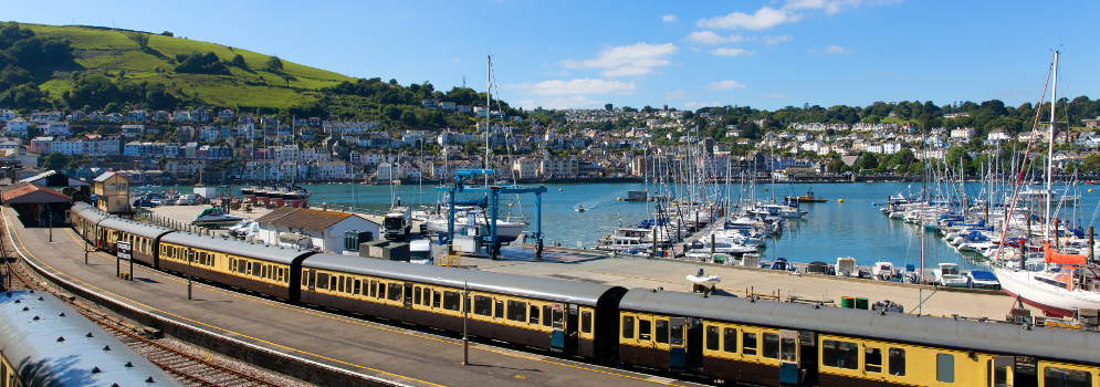 Dartmouth Steam Railway in Engeland