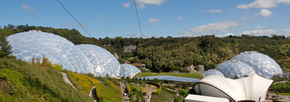 Eden Project in Cornwall