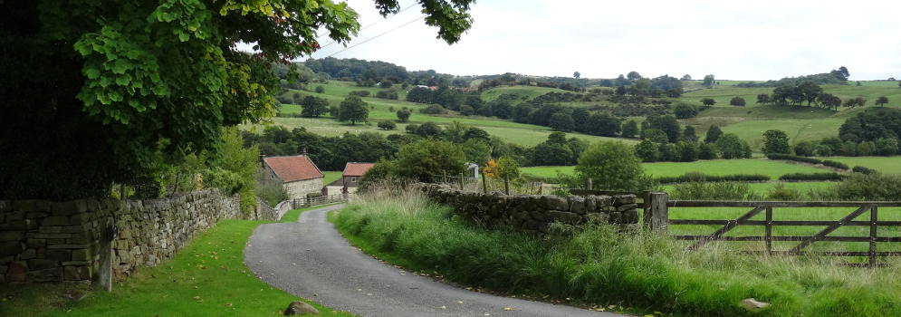 Esk Valley in North Yorkshire