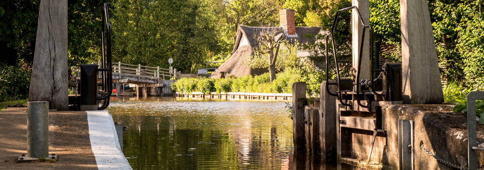 Flatford in Suffolk, Engeland