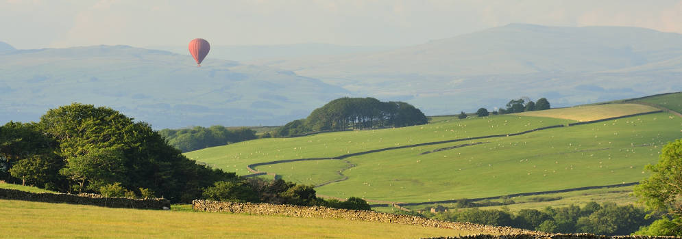 Forest of Bowland in Lancashire, Engeland