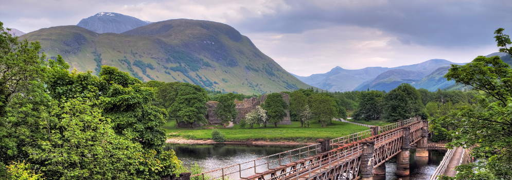 Fort William in Schotland