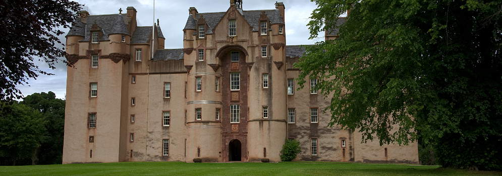 Fyvie Castle in Aberdeenshire, in Schotland