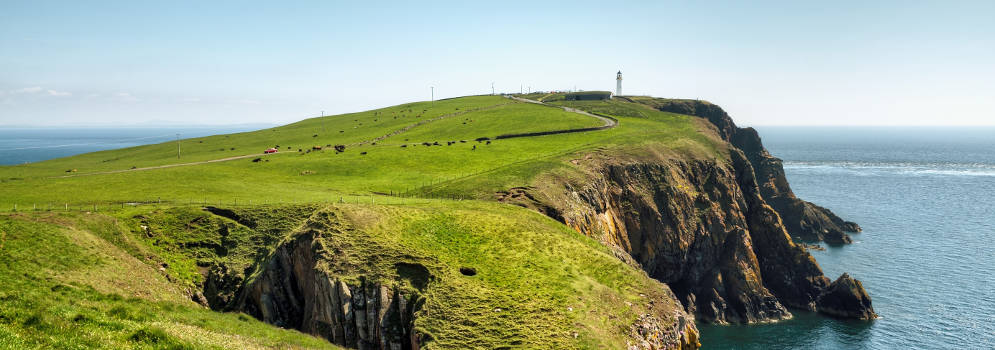 Mull of Galloway in Schotland