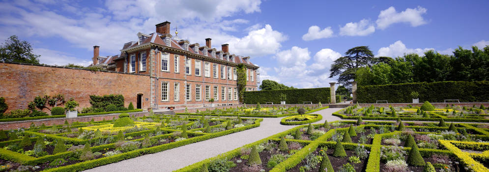 Hanbury Hall in Worcestershire