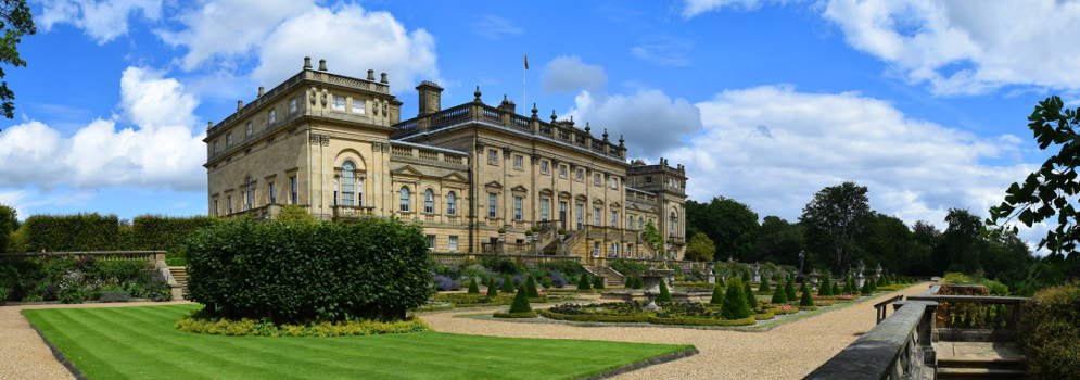 Harewood House in West Yorkshire