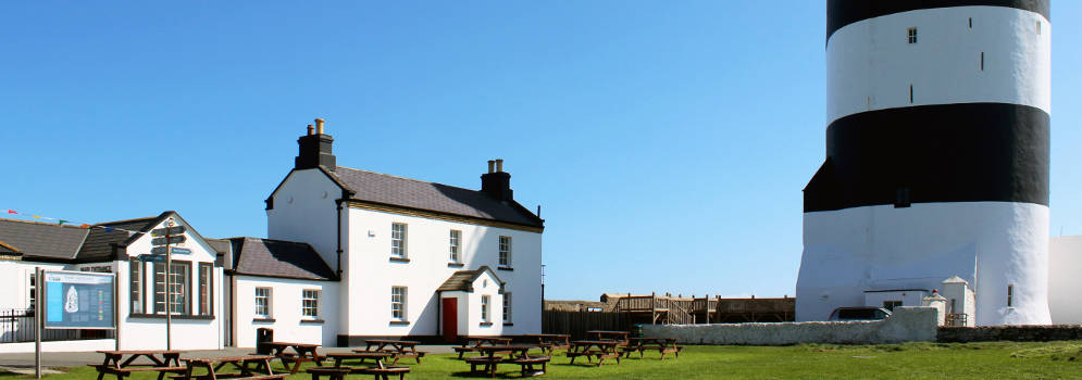 Hook Lighthouse in County Wexford, Ierland