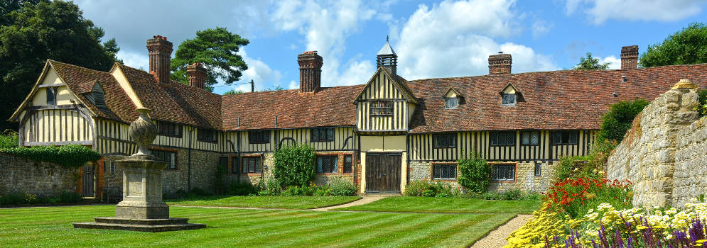 Ightham Mote in Kent