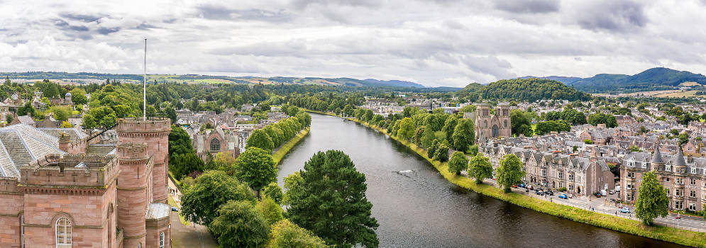 Inverness in Schotland
