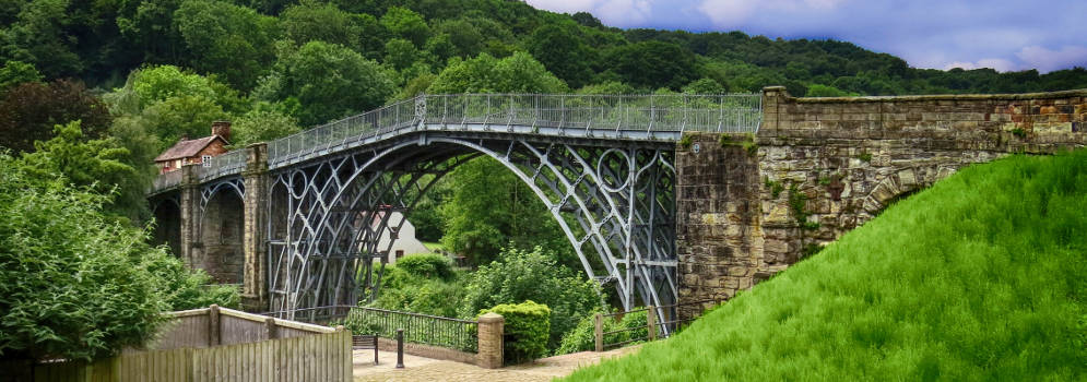 Ironbridge in Engeland