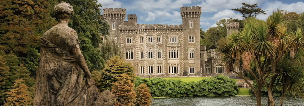 Johnstown Castle in County Wexford, Ierland