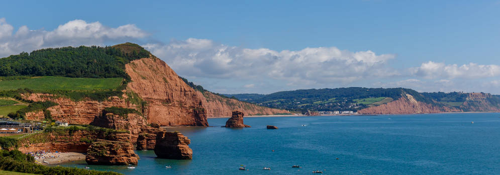 Jurassic Coast in East Devon