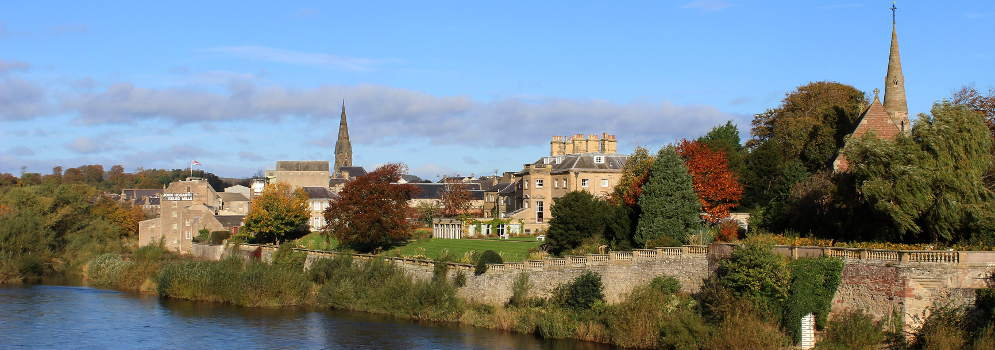 Kelso in de Scottish Borders
