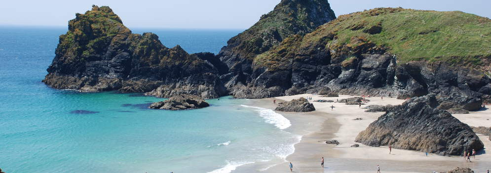 Kynance Cove in Cornwall