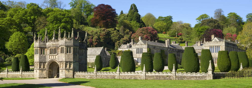 Lanhydrock House in Cornwall