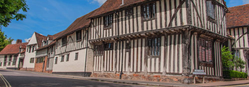 Lavenham in Suffolk, Oost Engeland