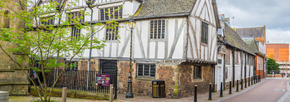 Leicester Guildhall in Engeland