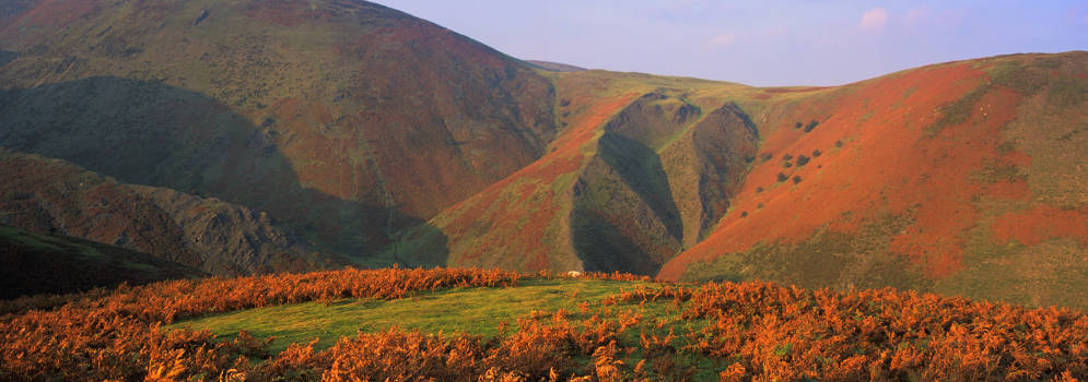 Long Mynd in de Shropshire Hills