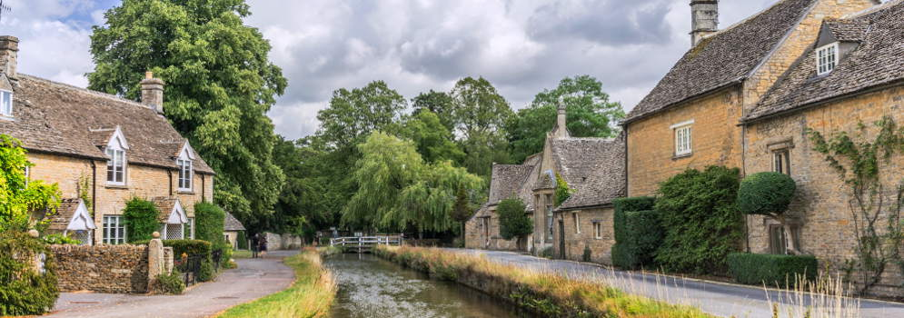 Lower Slaughter in Gloucestershire, Cotswolds