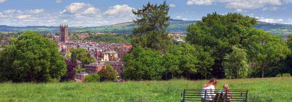 Ludlow in Shropshire