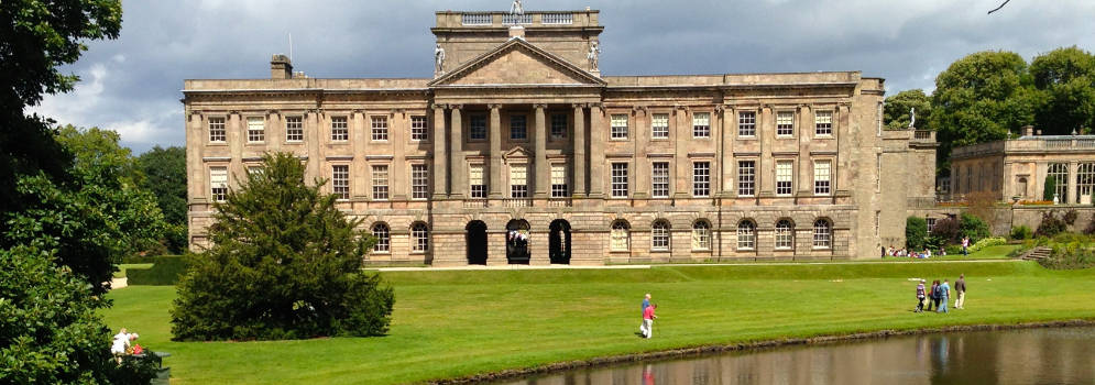 Lyme Park in het Peak District
