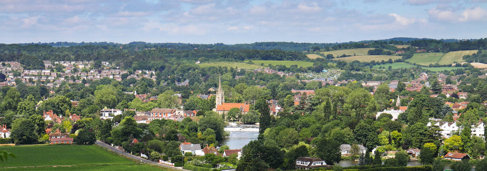 Marlow in Buckinghamshire