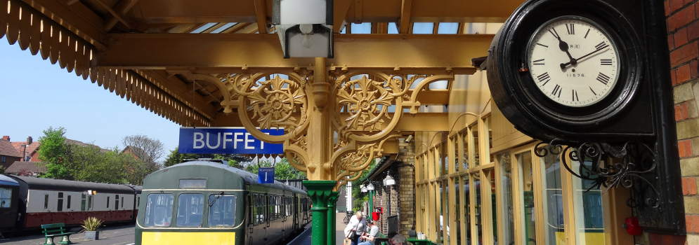 North Norfolk Railway in Engeland
