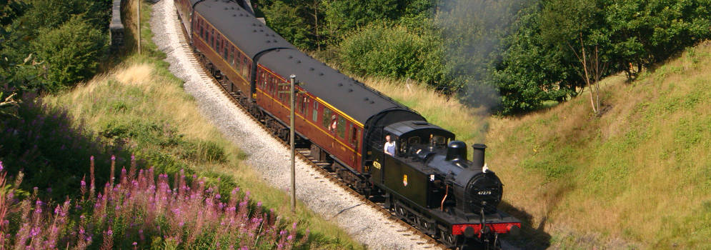 North Yorkshire Moors Railway vanuit Whitby in Engeland