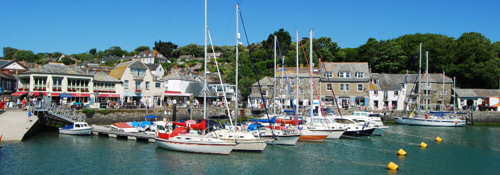 Padstow in Cornwall, Zuidwest Engeland